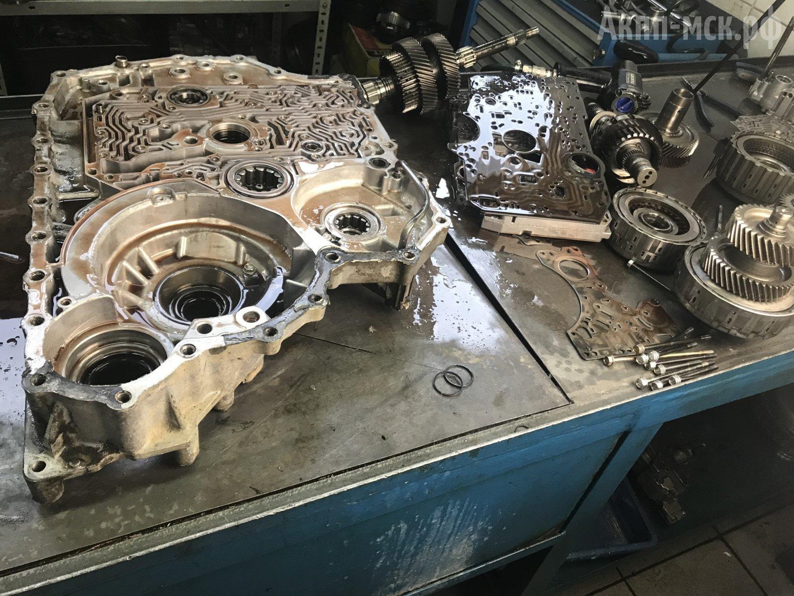 дефектовка АКПП BJFA Honda Ridgeline