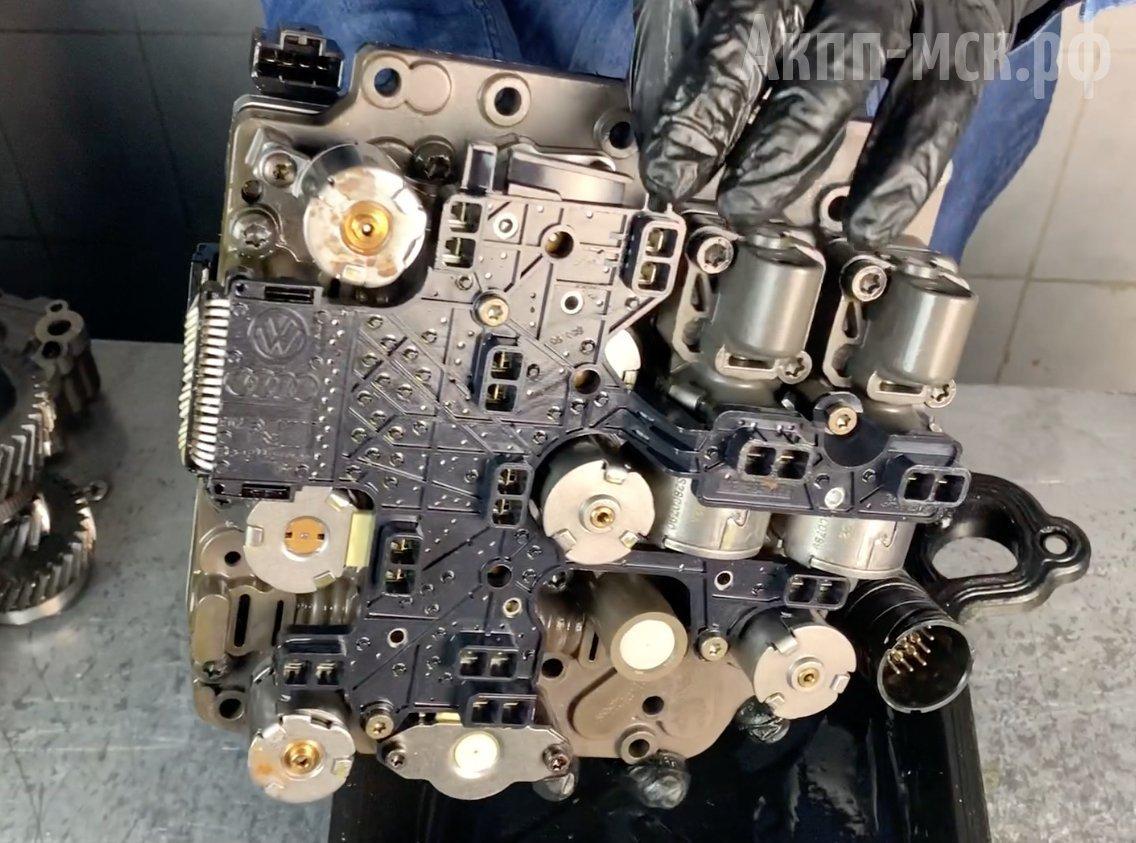 мехатроник АКПП DSG6 02E DQ250