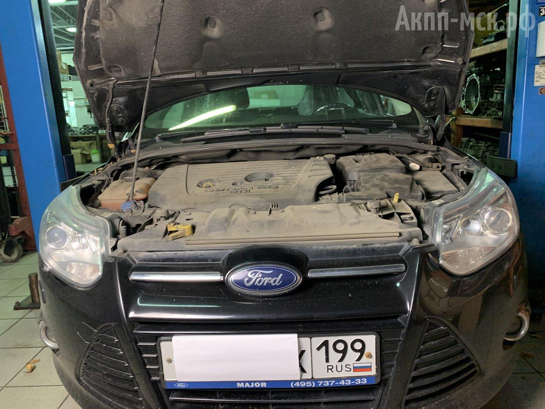 Диагностика Powershift 6DCT250 Ford Focus 3
