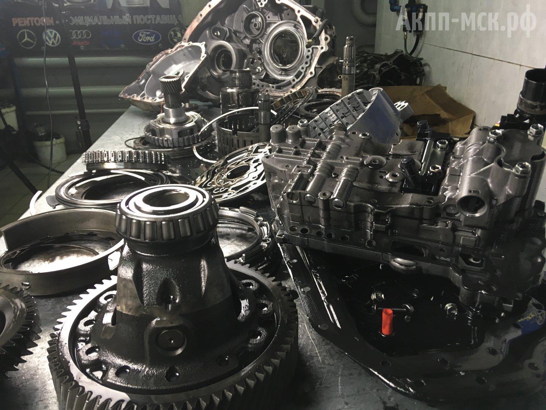 дефектовка АКПП Toyota U660E U760E