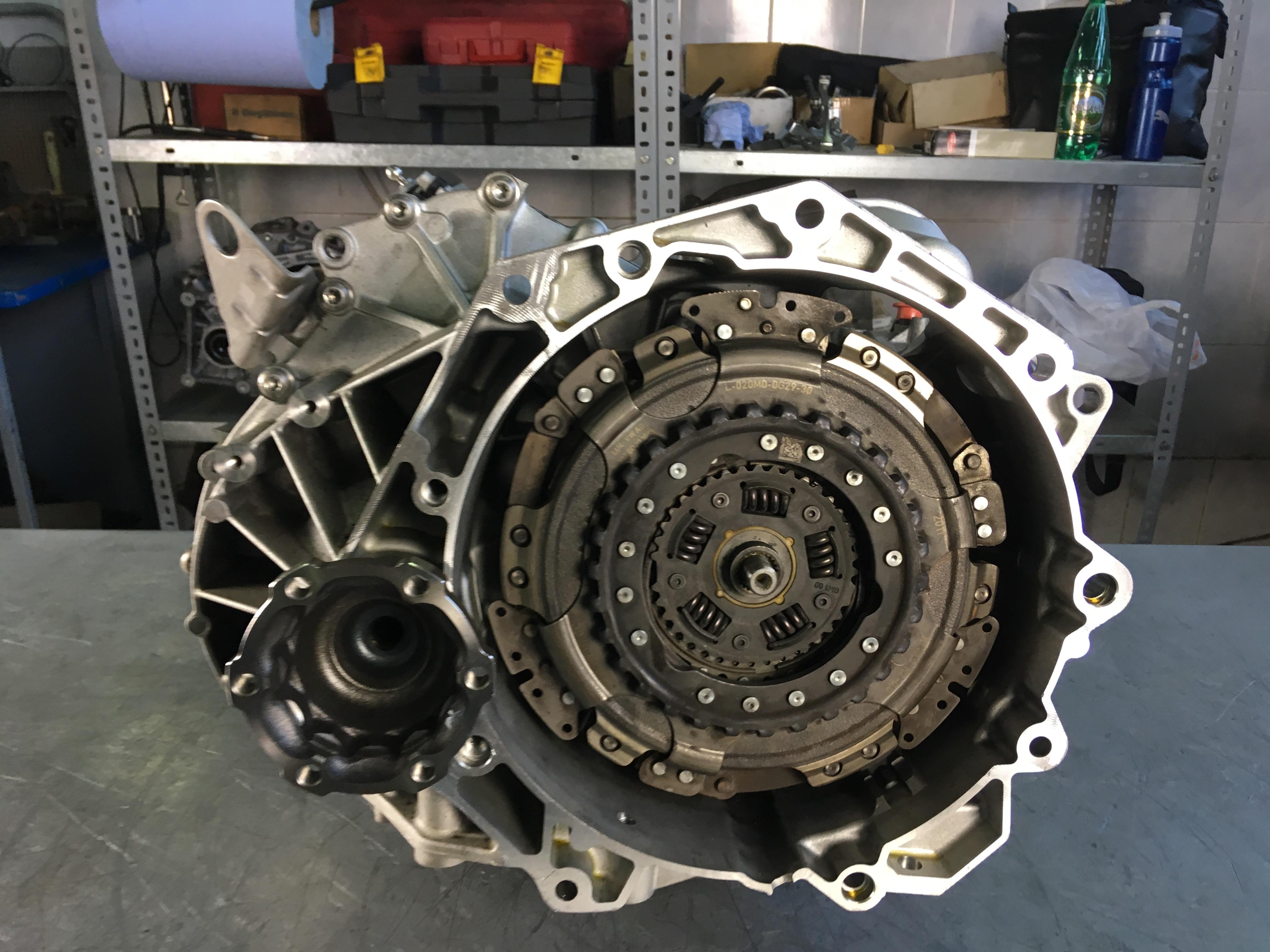 ремонт АКПП DSG7 0AM 0CW DQ200